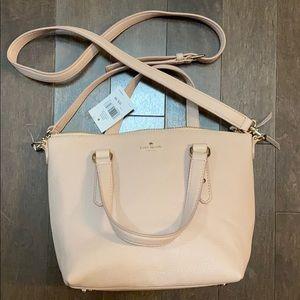 Kate spade small penny handbag in warmvellum